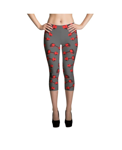 Barbell Capri Leggings