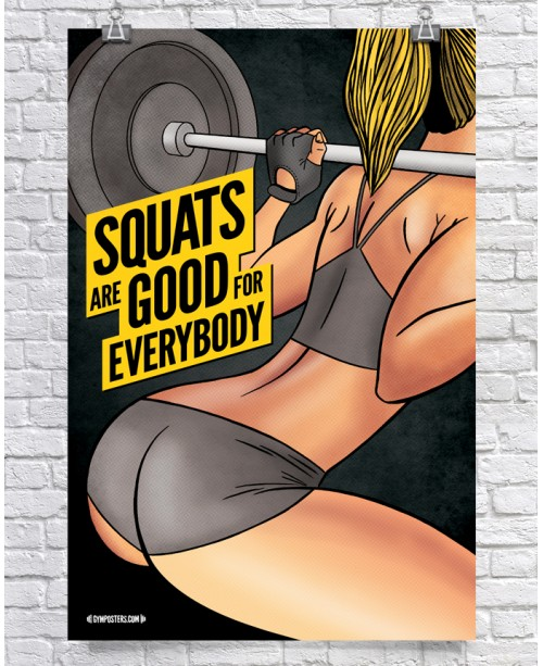 Squats are good for everybody - Color