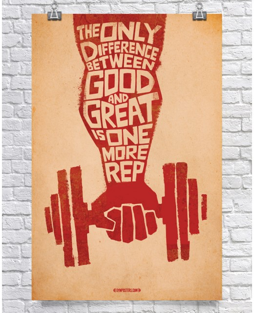 Difference Between Good & Great - Red