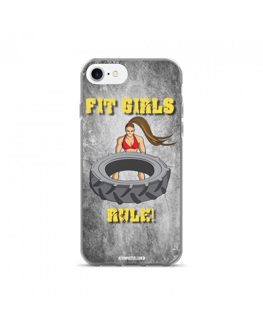 Fit Girls Rule iPhone Cases