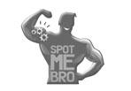 gym posters spot me bro